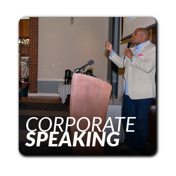 David Arrington delivers electrifying keynotes and corporate talks