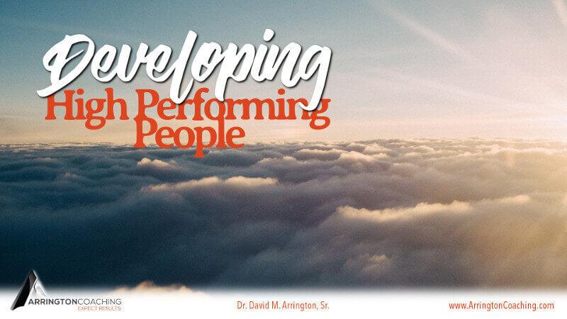 developing high performing people