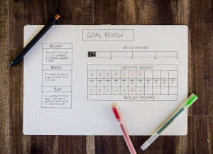 time managment starts with goals