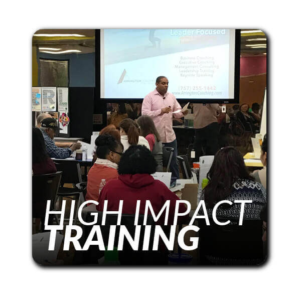 From lunch-and-learn workshops to multi-day day leadership courses Arrington Coaching delivers ROI