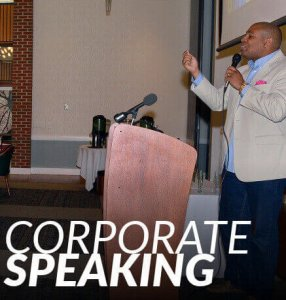 Keynote and corporate speaking