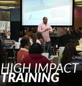High impact leadership training