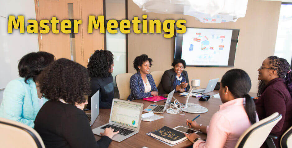 Leading effective meetings is a part of any career advancement training.
