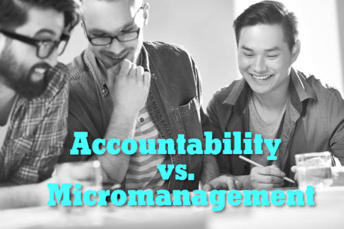 Accountability vs. Micromanagement