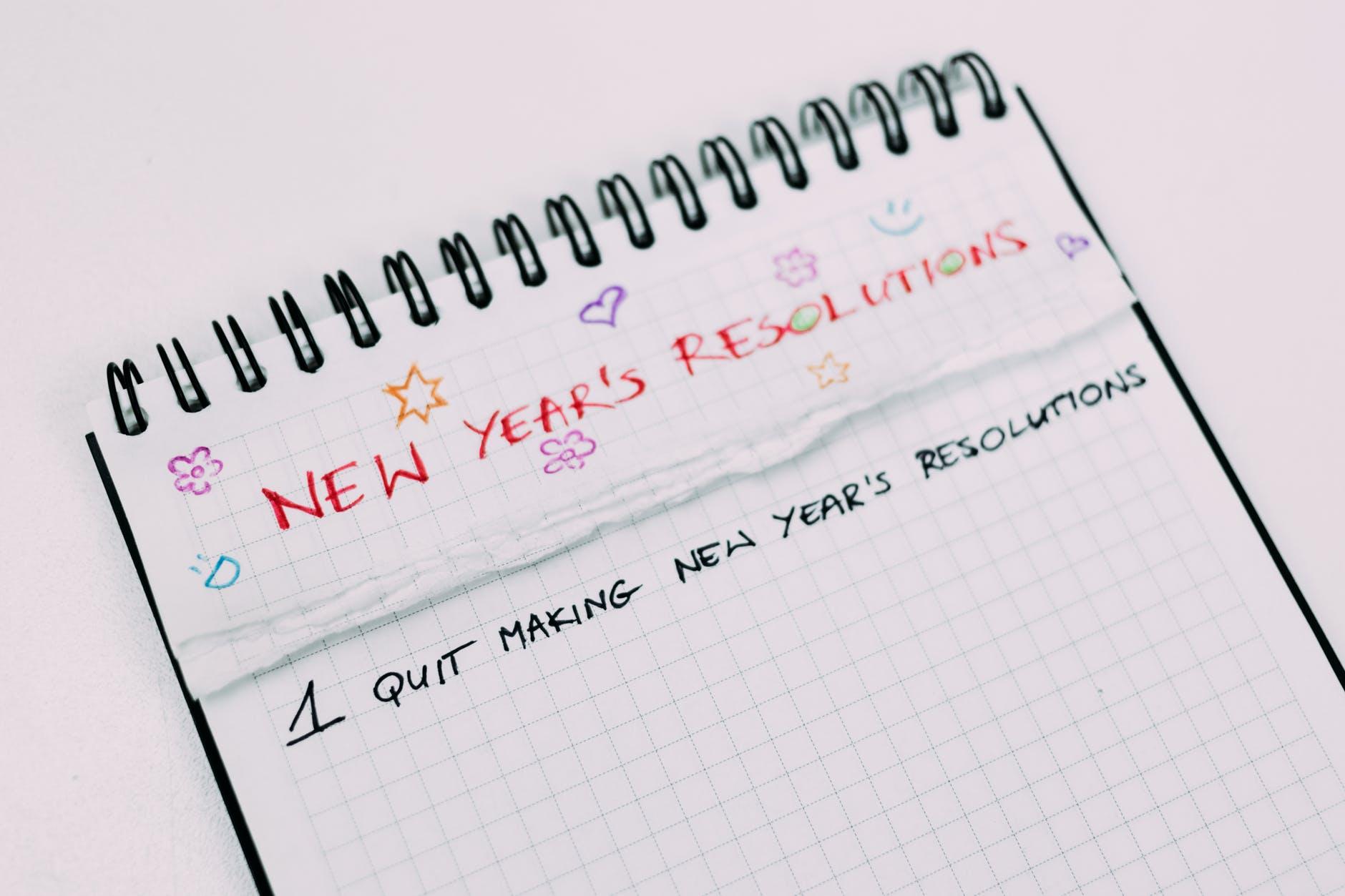 new year goal